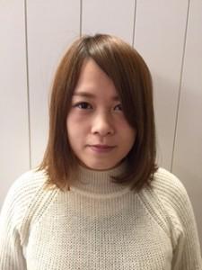 内部ブログ1小川さん髪長